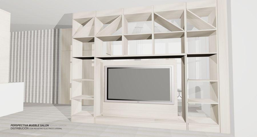 Diseño mueble salón