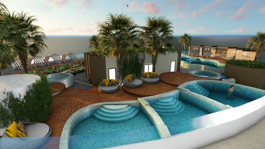 Foto dise o ocean spa plaza planta alta gibraltar planta - Spa urbano valladolid ...