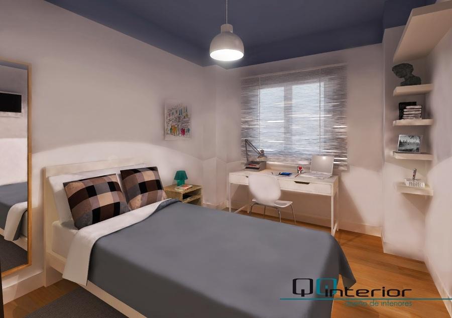 Dormitorio juvenil de diseno dise os arquitect nicos for Distribucion habitacion juvenil