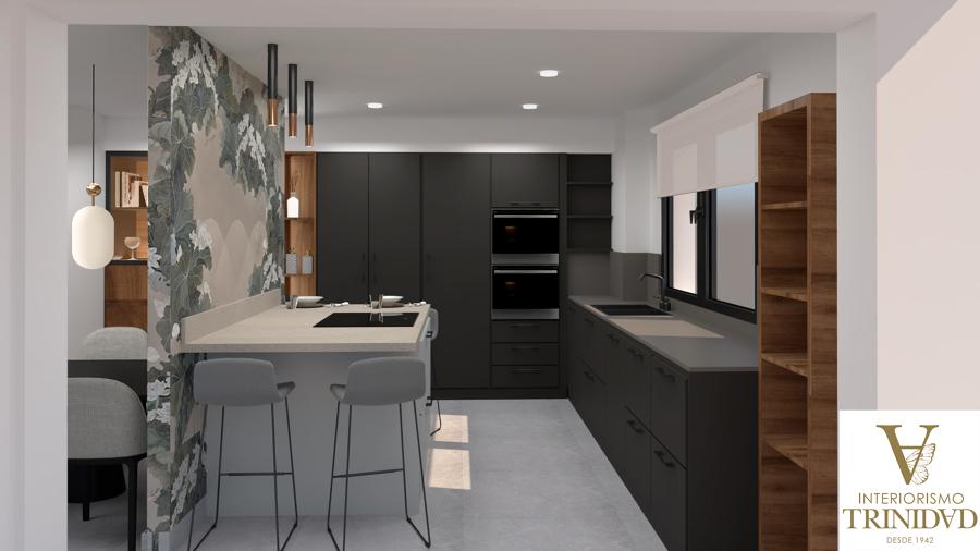 diseño, reforma cocina moderna
