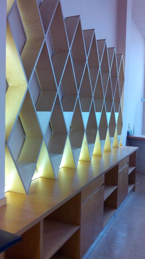 Diseño Restaurante Barandal.