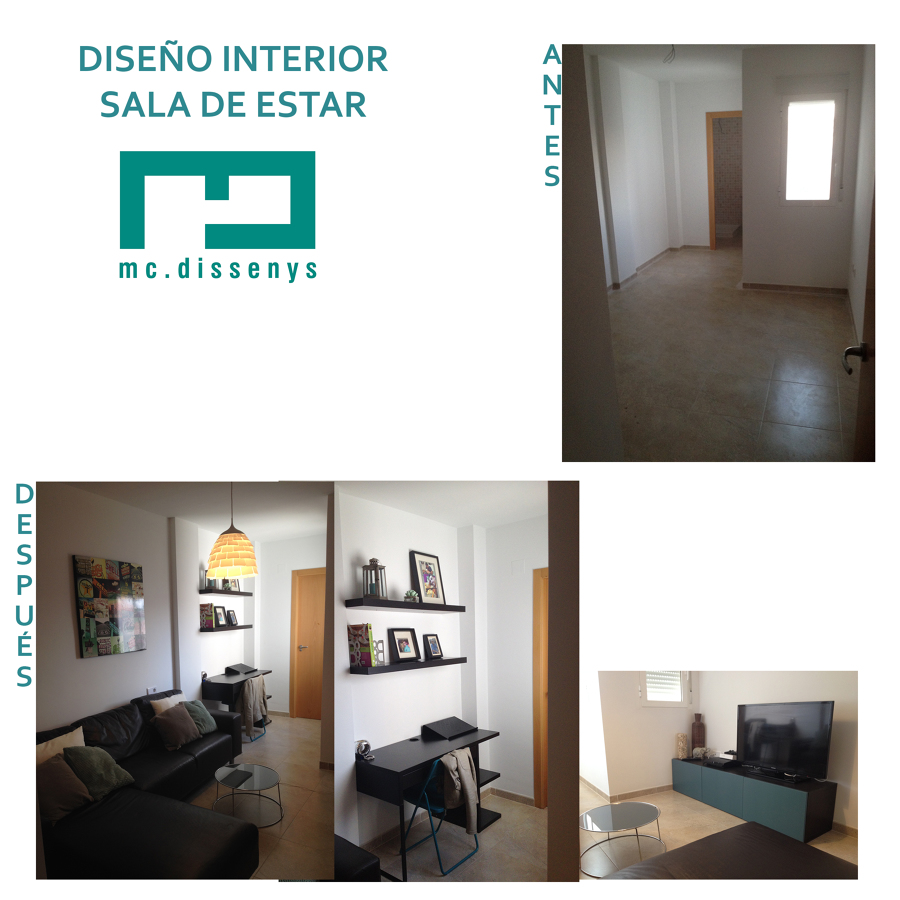 Interiorismo i decoraci n en sala de estar ideas decoradores - Decoracion sala de estar ...