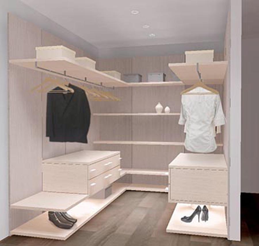 Foto dise o vestidor paiporta de carlos lucas nohales for Armarios modernos de diseno