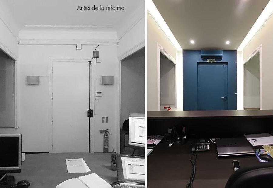 Foto dise o y reforma de recepci n de xte interiorismo - Interiorismo low cost ...