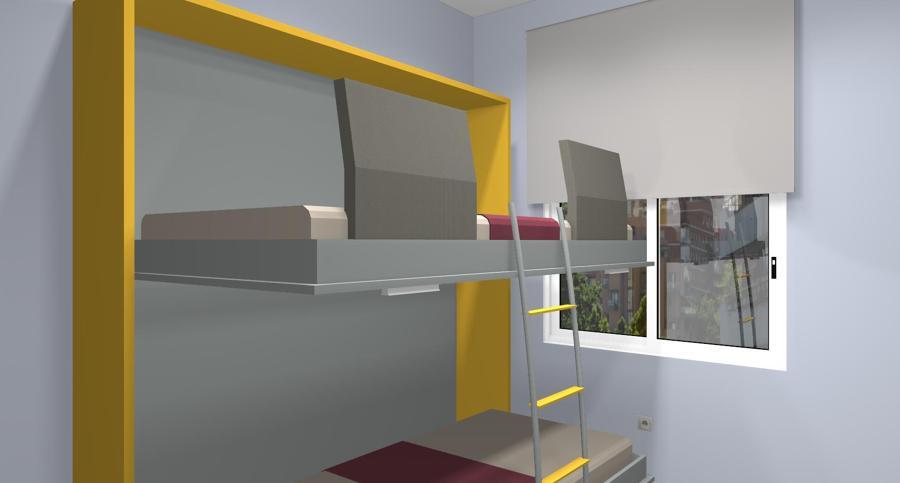 Foto: Diseños en 3D de Muebles Juveniles JJP de Decoasencio #605715 ...