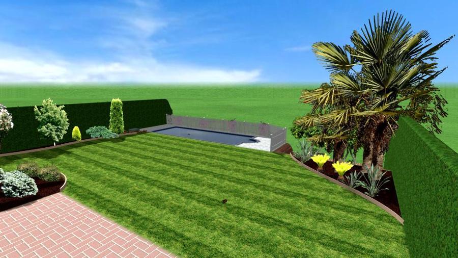 3d jardin architecte with 3d jardin amnagement extrieur et plan d de jardin zen pinterest. Black Bedroom Furniture Sets. Home Design Ideas