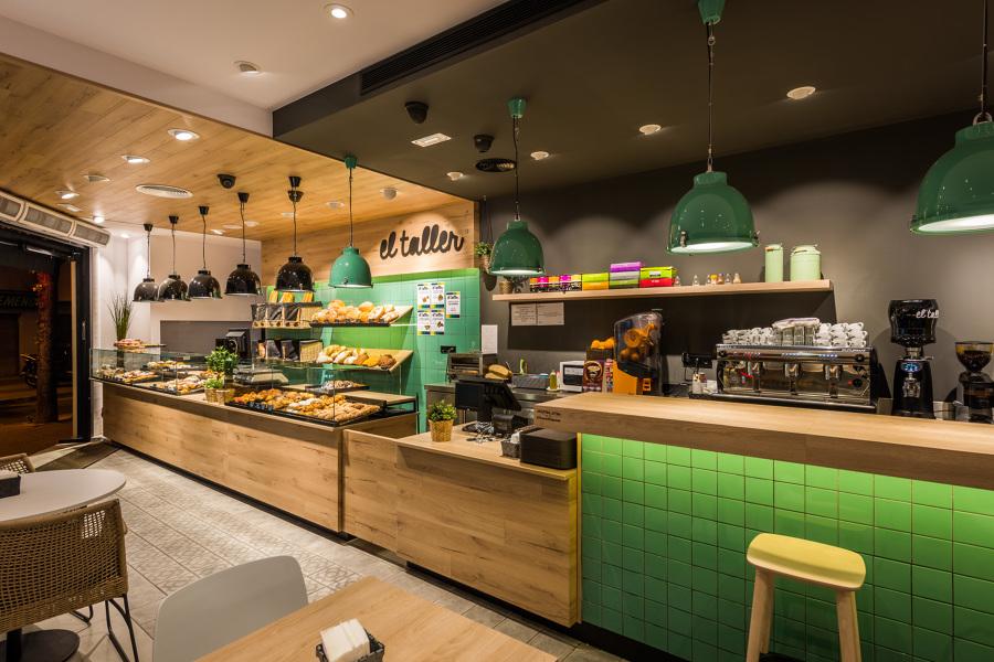 División panadería y cafetería - El Taller