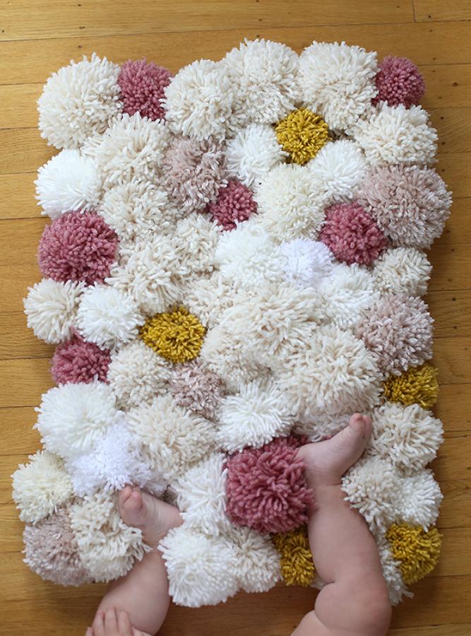 diy alfombra