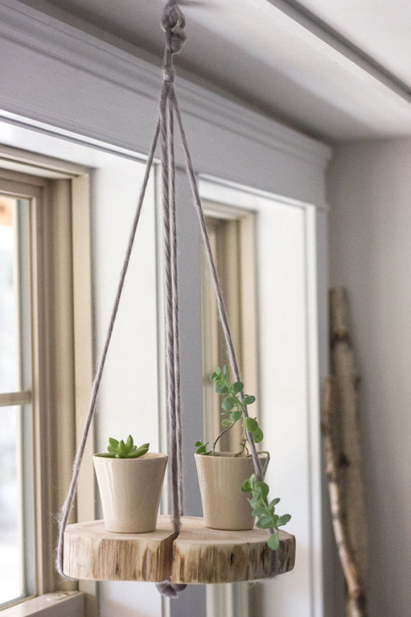 DIY PASCUERO colgante plantas