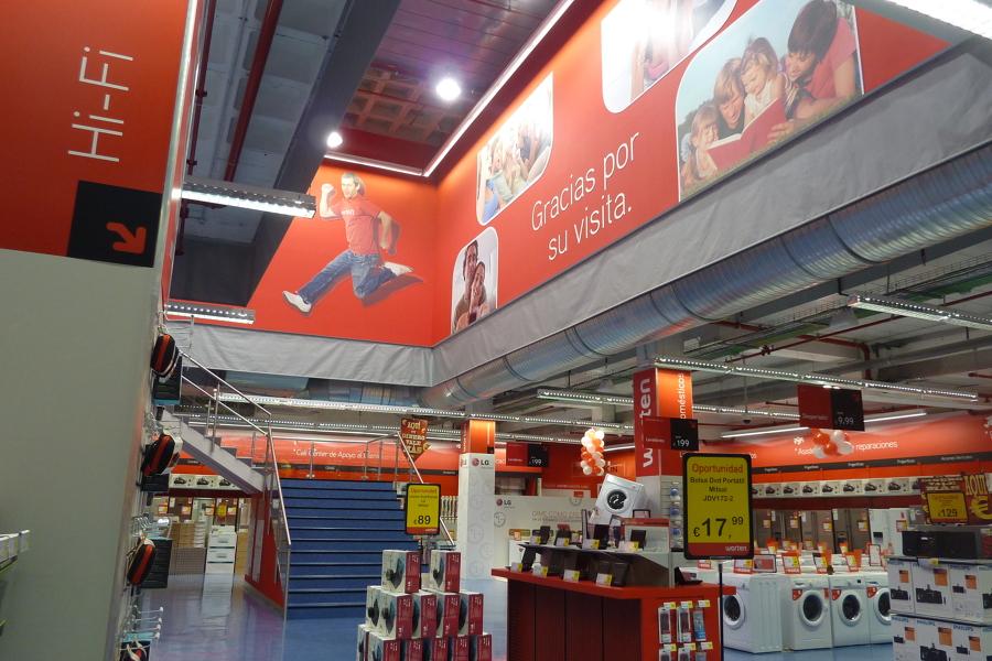 Tienda worten ideas licencias for Muebles de cocina worten