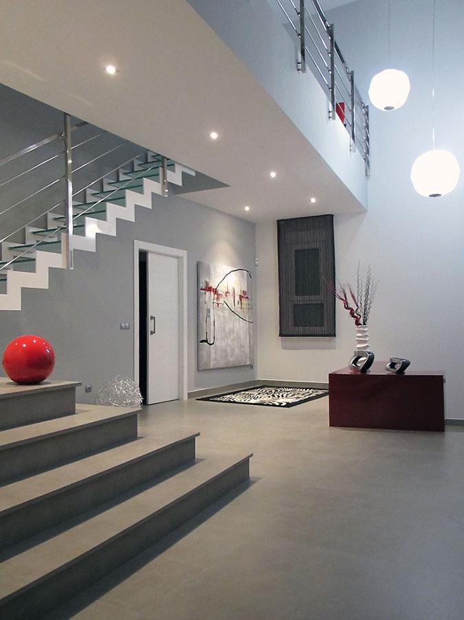 Una Casa Moderna y Formada en dos Volúmenes | Ideas
