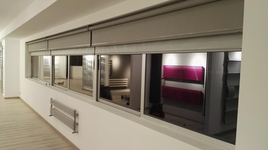 doble cortina enrollable