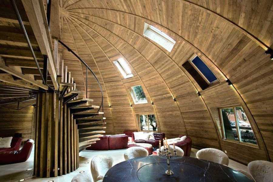 dome home interior