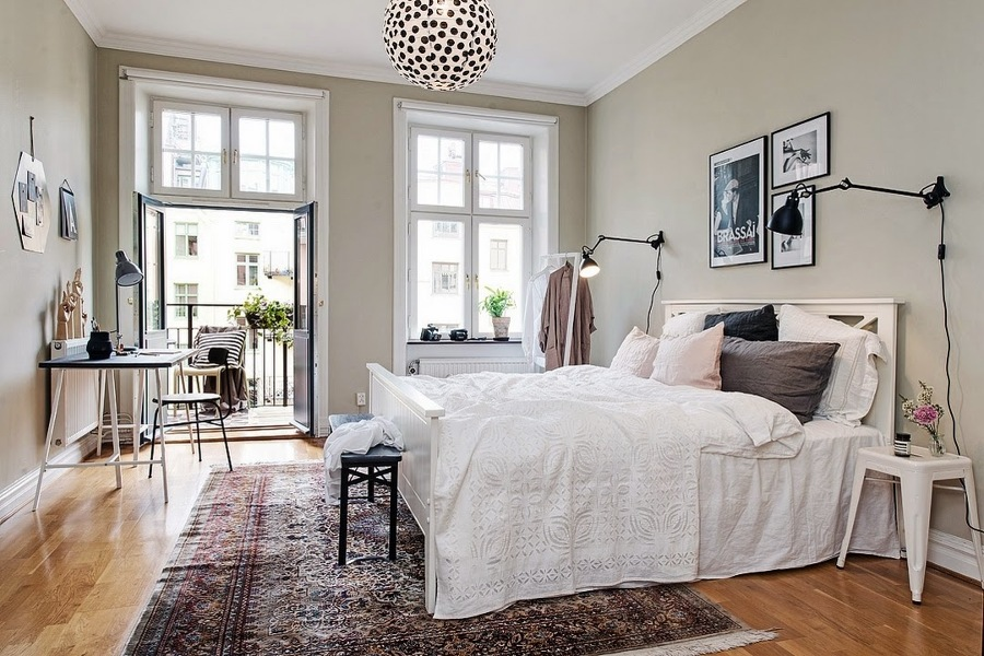Del viejo taller a tu hogar desempolva moldes artesanos for Dormitorio matrimonio estilo nordico