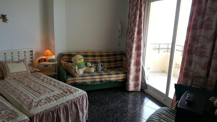 Dormitorio antes de la reforma.