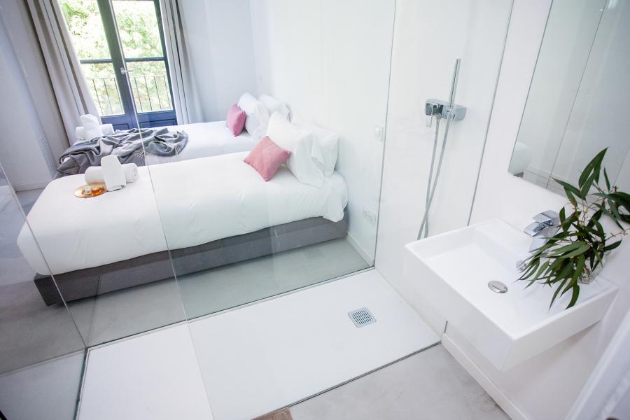 Dormitorio - baño integrado