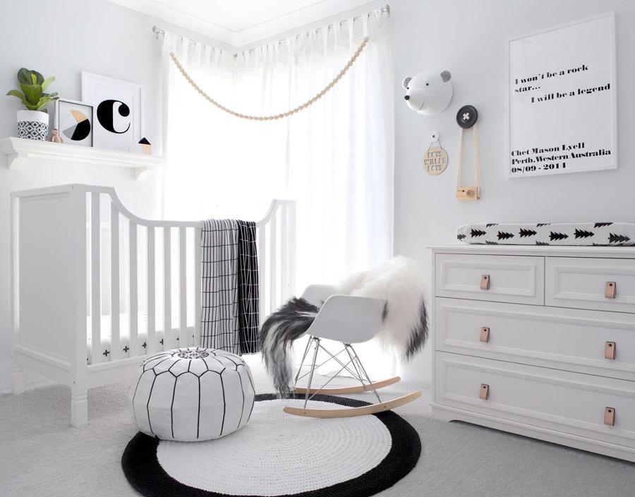 Consigue una habitaci n de estilo n rdico para tu beb - Papel pintado habitacion bebe ...