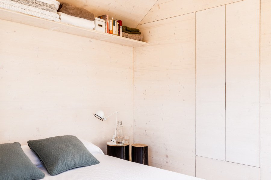 Dormitorio casa prefabricada