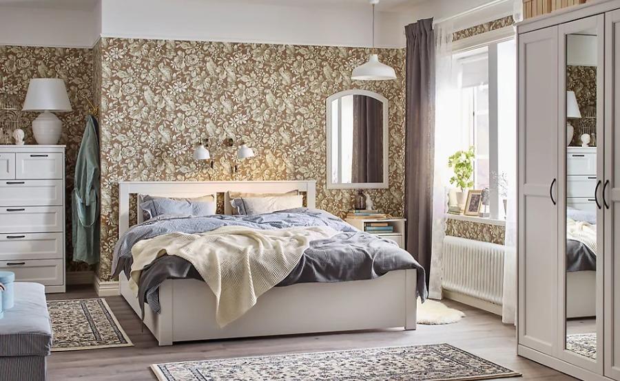 Dormitorio clásico IKEA
