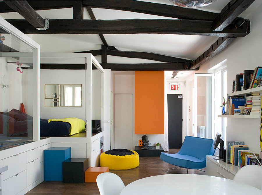 7 dormitorios que reflejan tu personalidad ideas decoradores - Almacenaje dormitorio ...