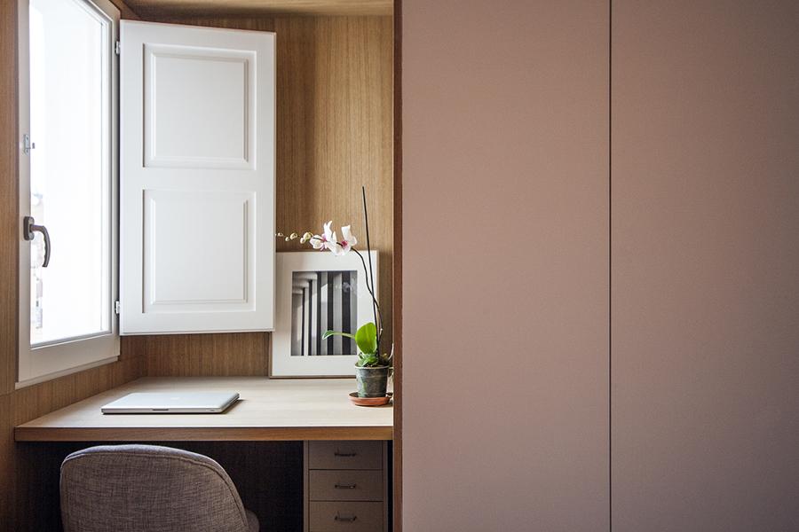 Foto dormitorio con armario a medida de lola mulledy - Dormitorio a medida ...