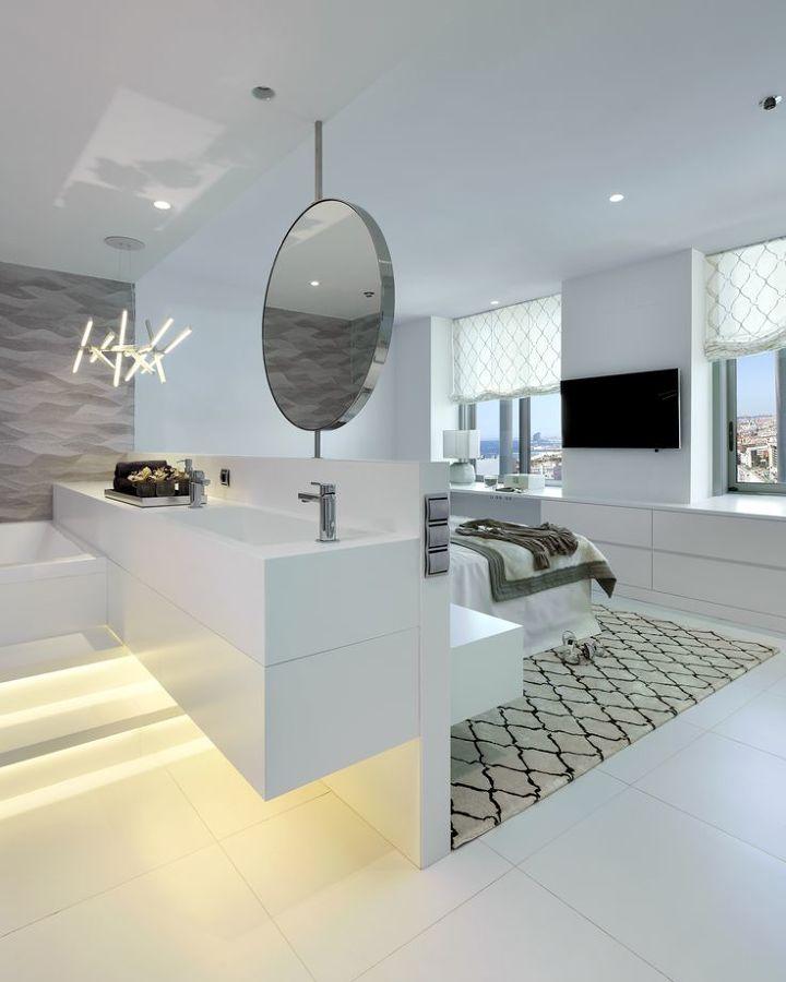10 dormitorios que amamos por sus grandes ideas ideas for Dormitorio con bano