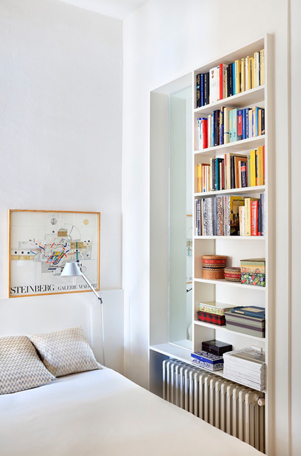 Foto dormitorio con estanter a a medida de lola mulledy 1301352 habitissimo - Estanteria a medida ...