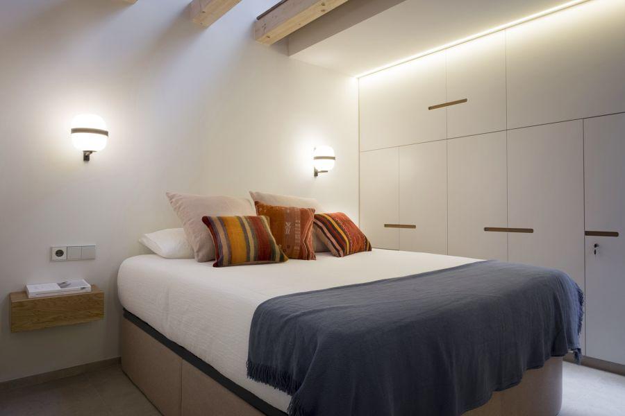 Dormitorio con luz de Led