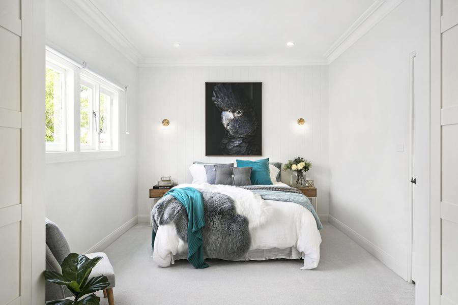 Paredes gris elegant decoracin dormitorio gris with - Dormitorio pared gris ...