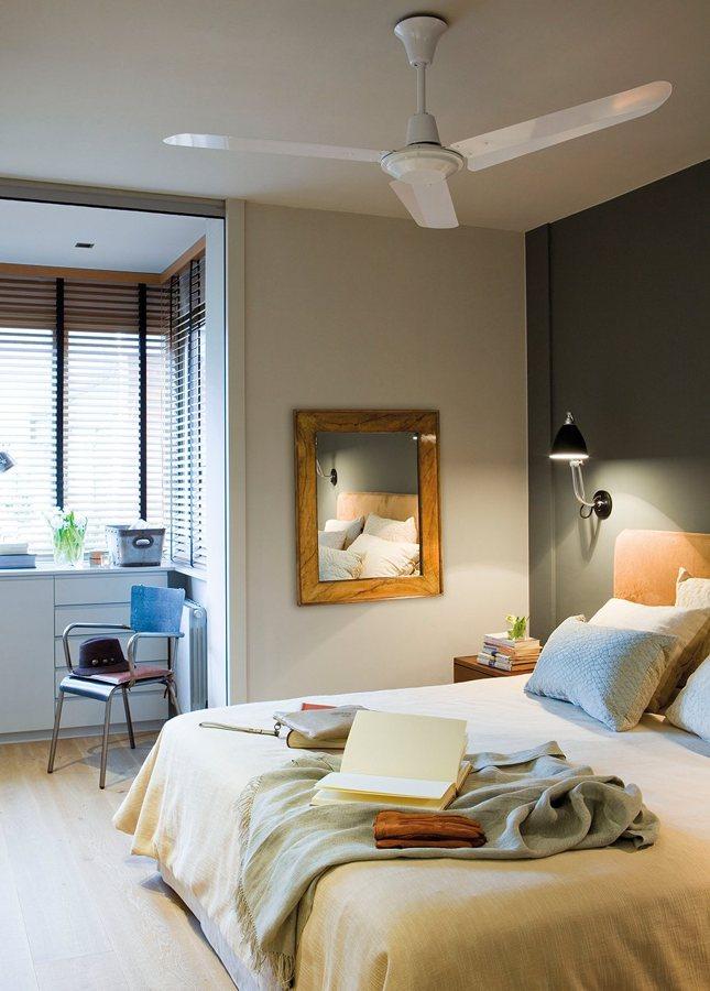dormitorio con ventilacion