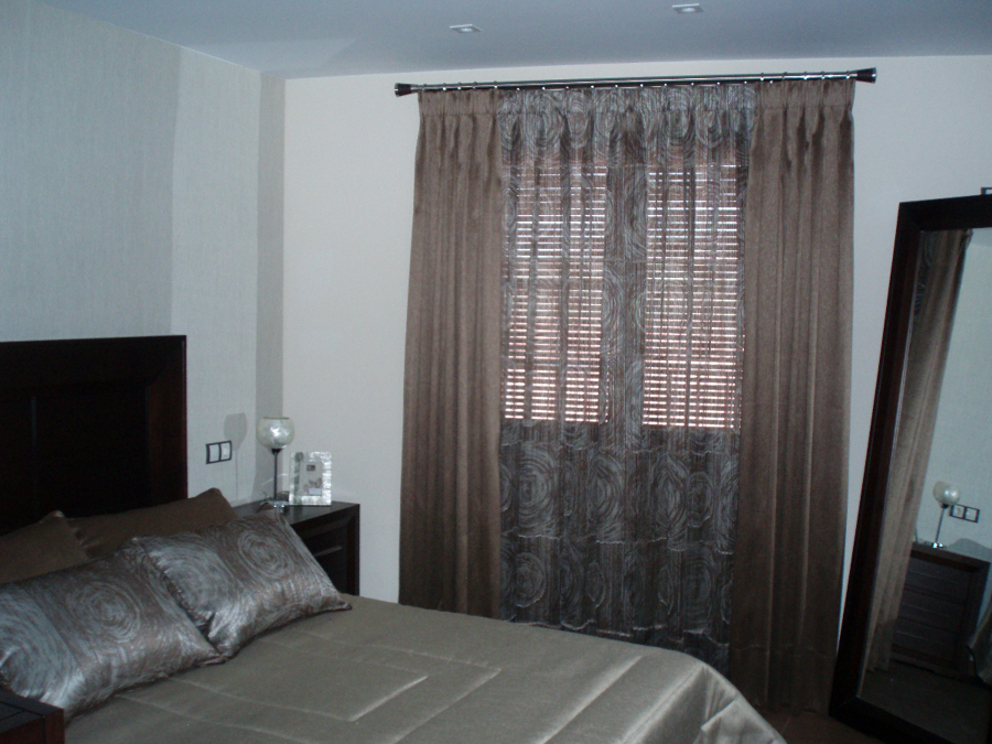 cortina forrada con foscurit