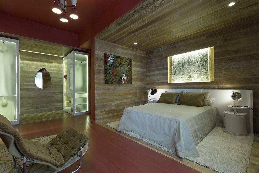 Dormitorio de color