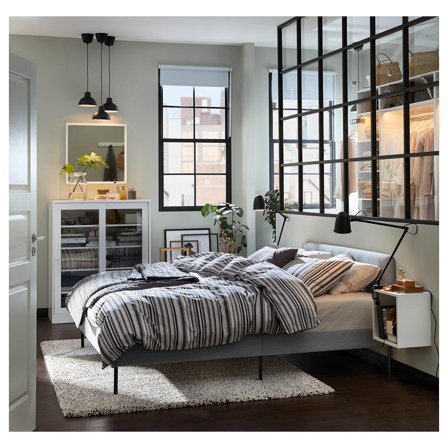 Dormitorio de estilo industrial IKEA