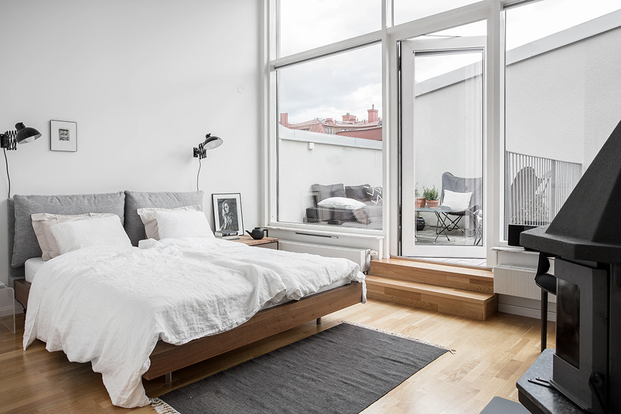 9 claves para convertir tu casa al estilo n rdico ideas for Dormitorio nordico