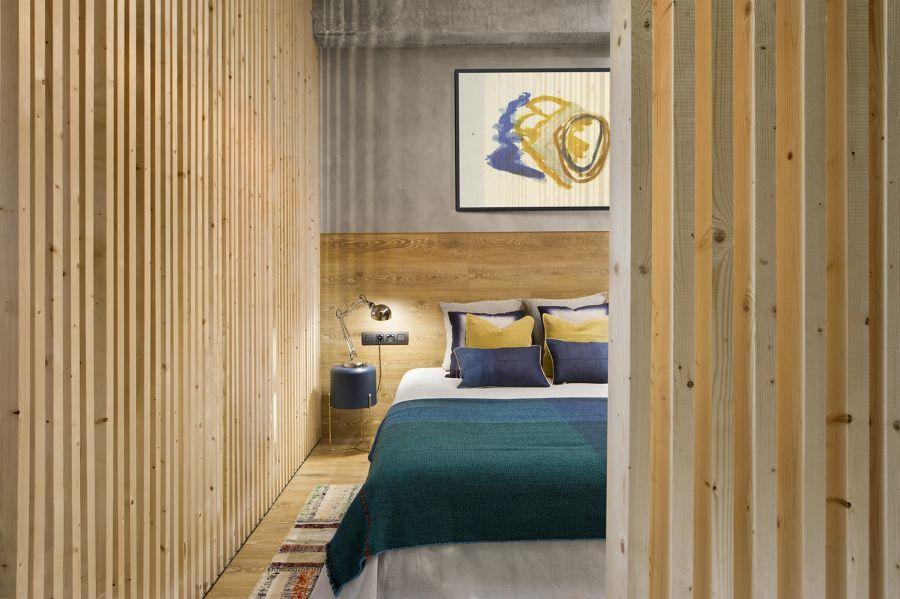Dormitorio de estilo urbano