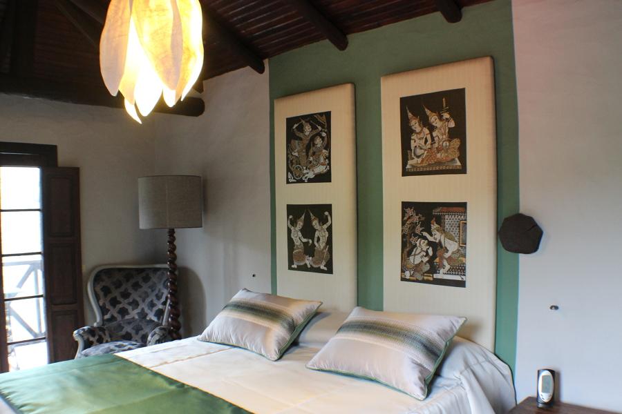 Dormitorio decorado
