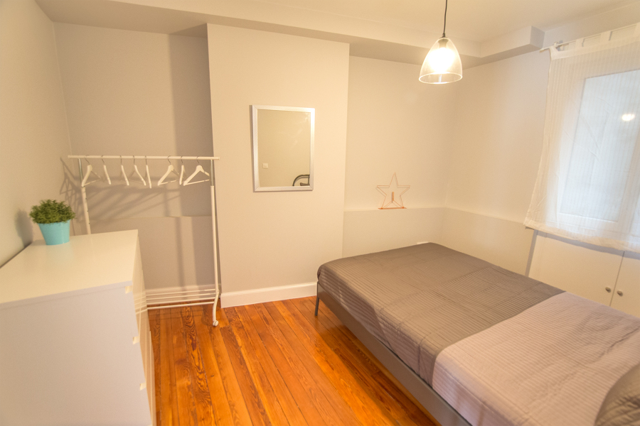 Dormitorio después