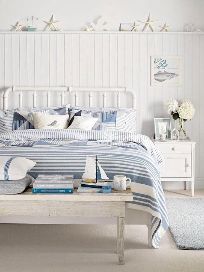 Dormitorio estilo marinero