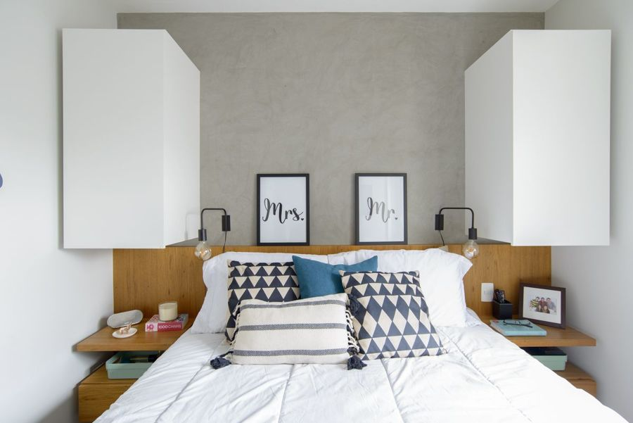 Dormitorio estilo urbano