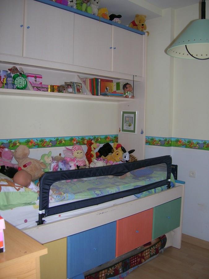 Dormitorio infantil antes de la reforma