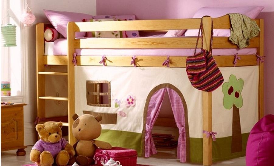 C mo decorar un dormitorio infantil divertido ideas - Ideas dormitorio infantil ...