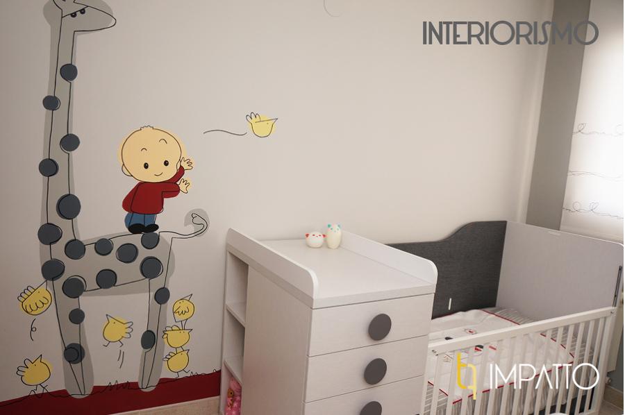 Dormitorio infantil en valencia ideas decoradores - Decoradores en valencia ...