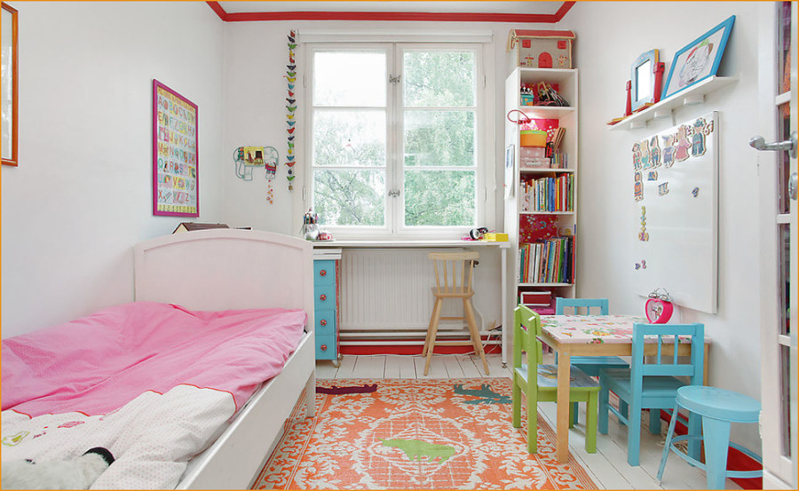 Foto dormitorio infantil estilo n rdico de marta 1101622 for Dormitorio juvenil estilo nordico