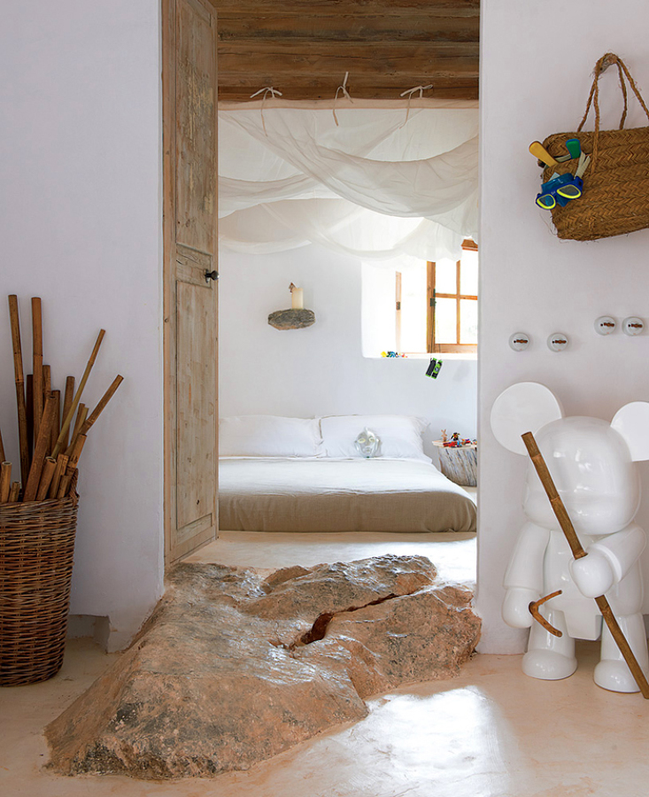 Dormitorio infantil estilo rústico