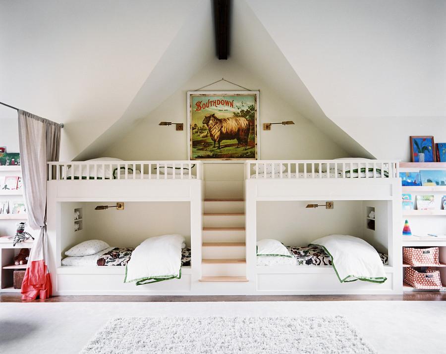 dormitorio infantil para 4