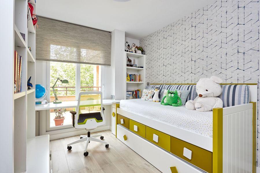 Dormitorio juvenil con mobiliario a medida