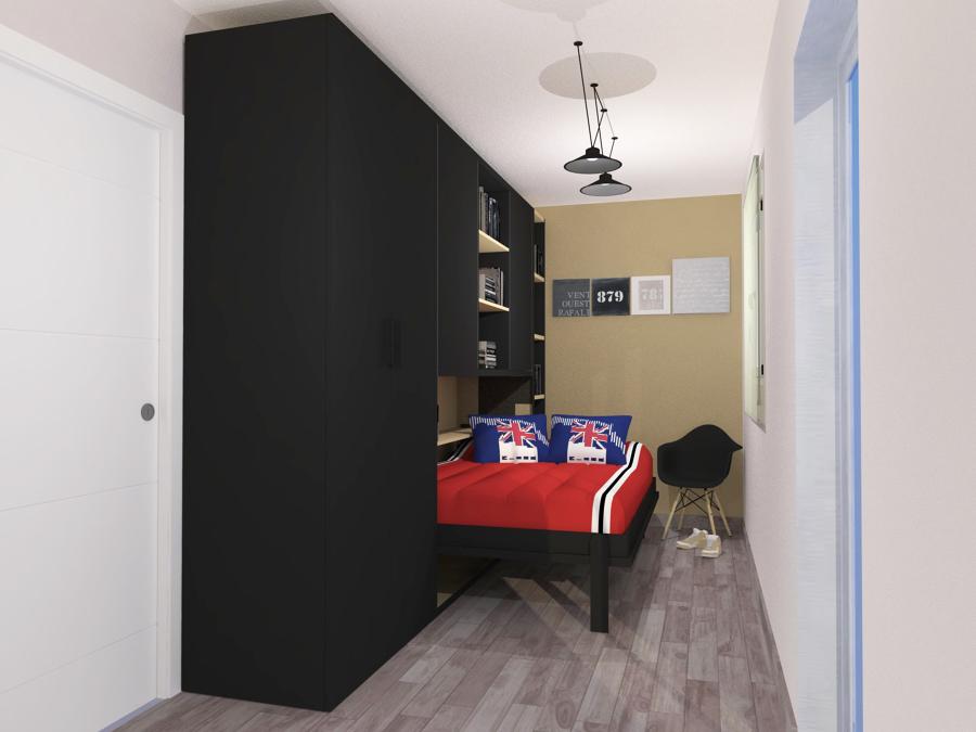 Dormitorio juvenil con muebles jjp en madrid ideas for Muebles dormitorio madrid