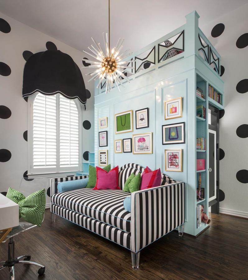 Dormitorio juvenil de chica