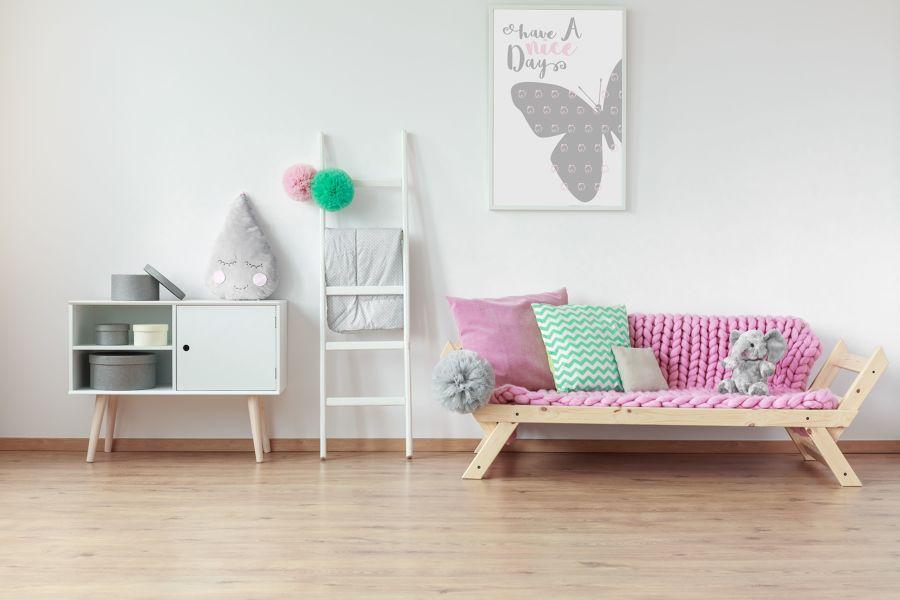 Dormitorio juvenil de niña