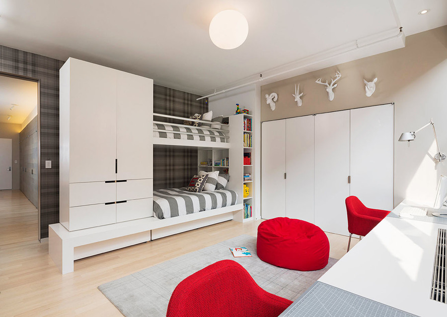Dormitorio juvenil para dos adolescentes